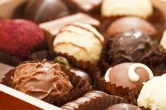 czekolady praline Zdjęcia Royalty Free