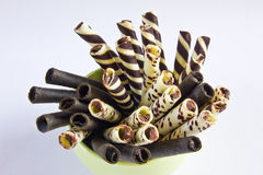 czekolady rama Obrazy Stock