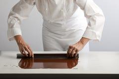 czekolady robienie Zdjęcie Stock