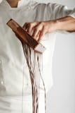 czekolady robienie Obraz Stock