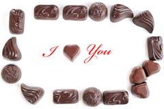 czekolady smakowite obrazy royalty free