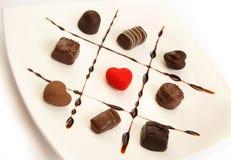 czekolady valentine Fotografia Royalty Free