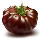 Czerń żebrujący heirloom pomidor, ścieżki Obraz Royalty Free