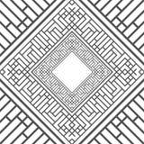 czerń abstrakcjonistyczna rama Zdjęcie Royalty Free