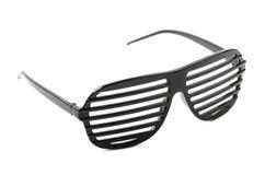 Czerń cieni okulary przeciwsłonecznych fotografia royalty free
