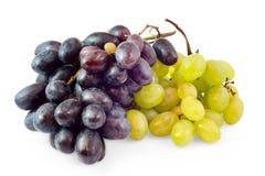 czerń gromadzi się winogrona biały zdjęcie royalty free