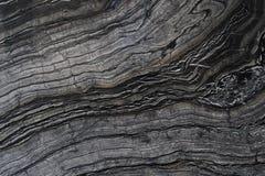 Czerń i siwieje marmur zamkniętego w górę obrazy royalty free