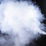 czerń odizolowywający dym Fotografia Royalty Free