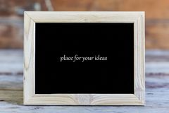 Czerń, tło stary, drewniany, ramowy, wiadomość, notatka, pokaz, kopii przestrzeń zdjęcia royalty free