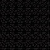 czerń abstrakcjonistyczny wzór Zdjęcie Royalty Free