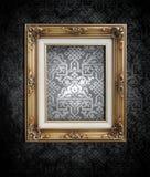 czerń biel brudny tapetowy Zdjęcia Stock