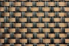 Czerń, Brown/Wyplatamy Fotografia Stock
