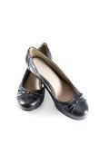 Czerń buty Zdjęcie Stock