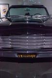 Czerń 1965 Lincoln Kontynentalny Fotografia Stock