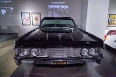Czerń 1965 Lincoln Kontynentalny Zdjęcia Stock