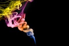 czerń nad dymem Fotografia Royalty Free