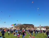 Czereśniowego okwitnięcia kani festiwal na national mall w Waszyngton, DC zdjęcie royalty free