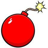 Czereśniowa bomba ilustracja wektor