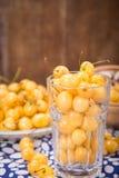 czereśniowego słodkie izolacji white zdjęcie stock