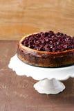 Czereśniowy cheesecake zdjęcie royalty free