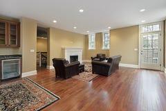 czereśniowy podłoga foyeru drewno Fotografia Royalty Free