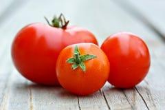 czereśniowi pomidory Zdjęcia Stock
