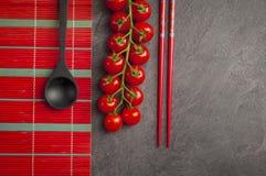Czereśniowi pomidory Zdjęcie Royalty Free