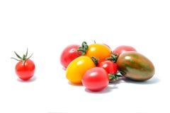Czereśniowy Gronowy pomidor Zdjęcia Stock