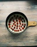 Czereśniowy kulebiak Zdjęcia Stock