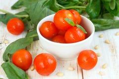 czereśniowy pomidor Obrazy Stock