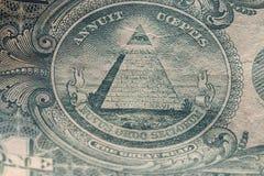 Czerepów banknoty USA Zdjęcia Stock