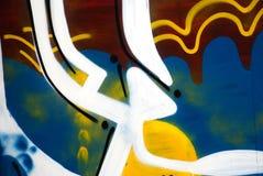 czerepów graffiti Obraz Royalty Free