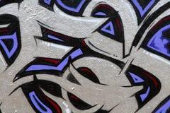 czerepów graffiti Fotografia Stock