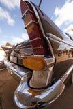 Czerepów retro samochodowi tylni światła Zdjęcia Royalty Free