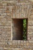 Czerep ściana z cegieł fortyfikacje Fotografia Stock