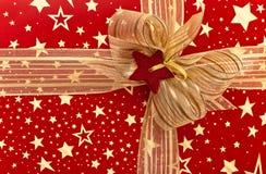 Czerep świąteczny pudełko Fotografia Stock