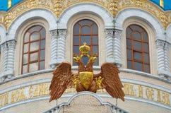 Czerep świątynna trójca Daje w Orekhovo-Borisovo, Rosja obraz stock