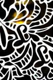 Czerep abstrakcjonistyczny ornament Zdjęcie Royalty Free