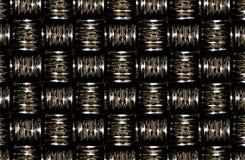 Czerep abstrakt Barwił ceramiczne płytki na ścianie, lub mozaika blokuje tło, czerwony żółty błękit wałkoni się złota popielatego Fotografia Stock