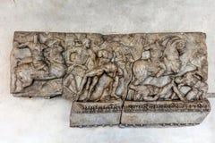 Czerep antyczny Romański sarkofag Zdjęcia Royalty Free