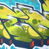 Czerep barwioni uliczni sztuka graffiti obrazy z konturami i podcieniowanie zamkni?ty w g?r? fotografia stock