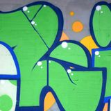 Czerep barwioni uliczni sztuka graffiti obrazy z konturami i podcieniowanie zamkni?ty w g?r? obraz royalty free