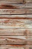 Czerep deskowa ściana drewniany dom zdjęcie royalty free
