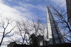 Czerep góruje nad Londyn, fotografującym w Londyn, UK _ obraz royalty free