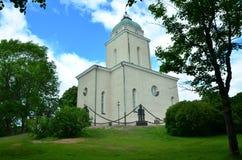 Czerep kościelny wyspa okręg Suomenlinna blisko Helsinki, Finlandia zdjęcie royalty free