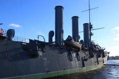 Czerep krążownik zorza obrazy stock