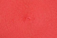 Czerep kurenda wyplata czerwona taśma zdjęcie stock