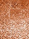 Czerep kwadratowa tekstura lub skrzyżowanie linii mozaiki powierzchni czerwieni menchii żółtej pomarańcze popielatej wałkonimy si Zdjęcia Stock