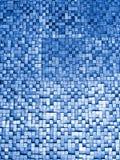 Czerep kwadratowa tekstura lub skrzyżowanie linii mozaiki powierzchni czerwieni menchii żółtej pomarańcze popielatej wałkonimy si Obrazy Royalty Free