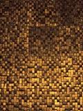 Czerep kwadratowa tekstura lub skrzyżowanie linii mozaiki powierzchni czerwieni menchii żółtej pomarańcze popielatej wałkonimy si Zdjęcie Stock